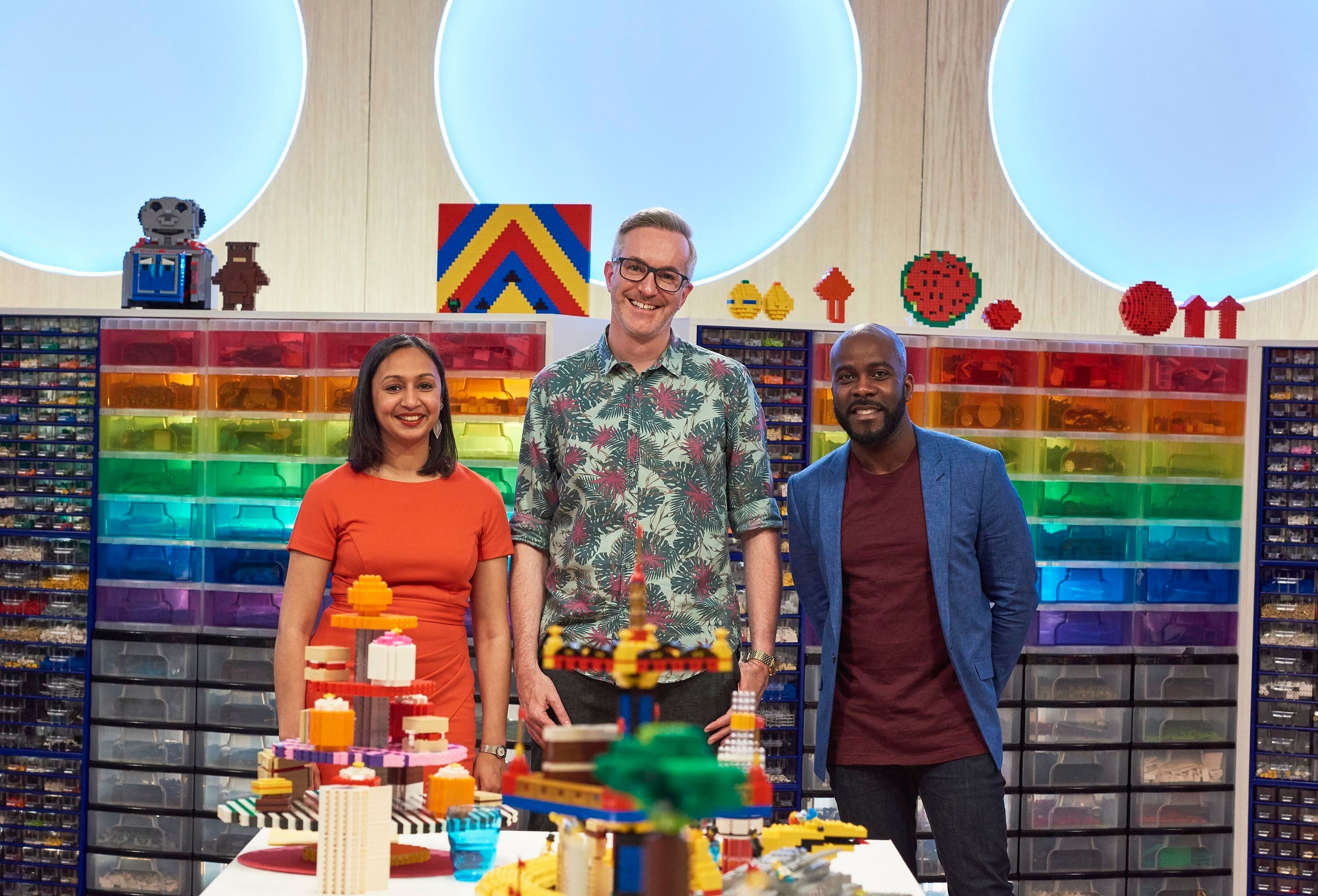 Melvin was the host of Channel 4's 'Lego