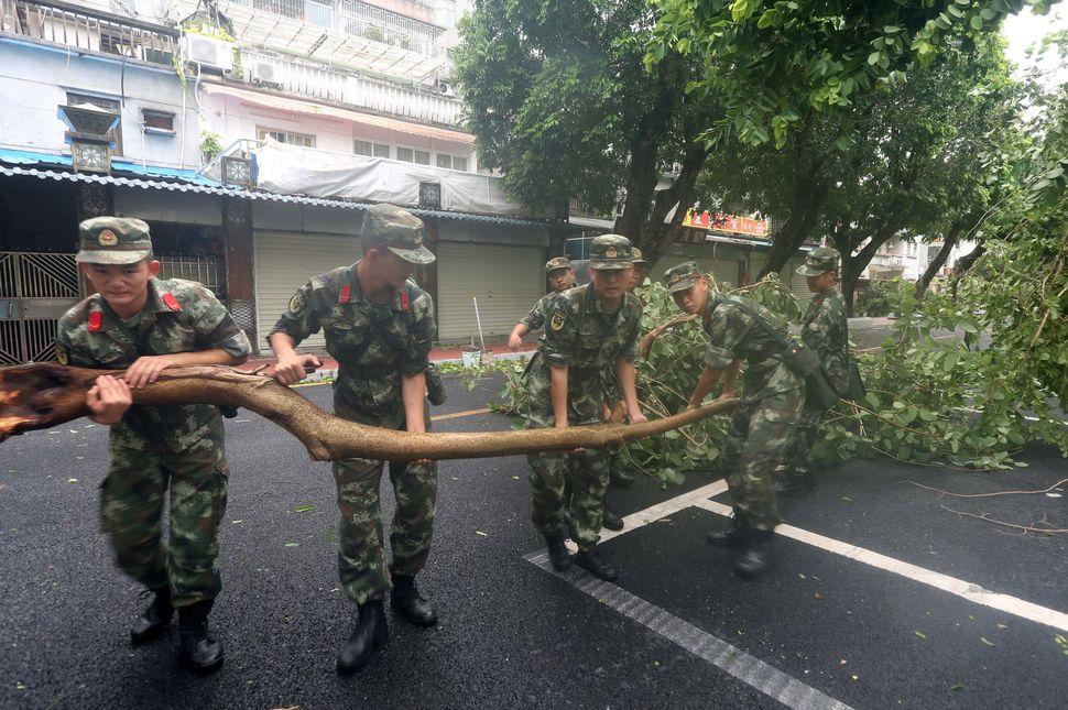 Shenzhen, China, Aug. 23.