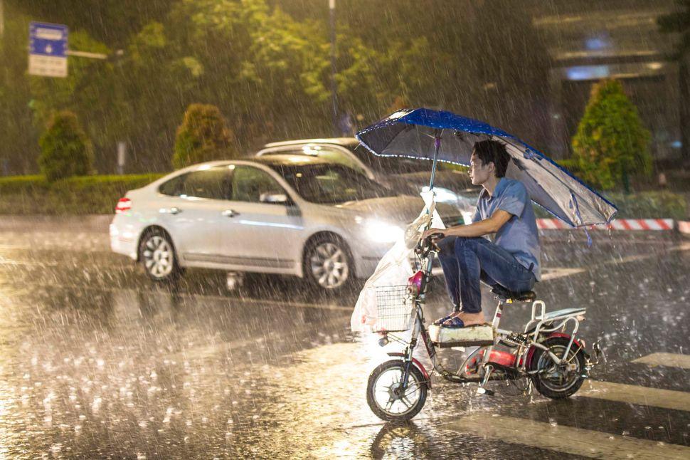 Shenzhen, China, Aug. 22.
