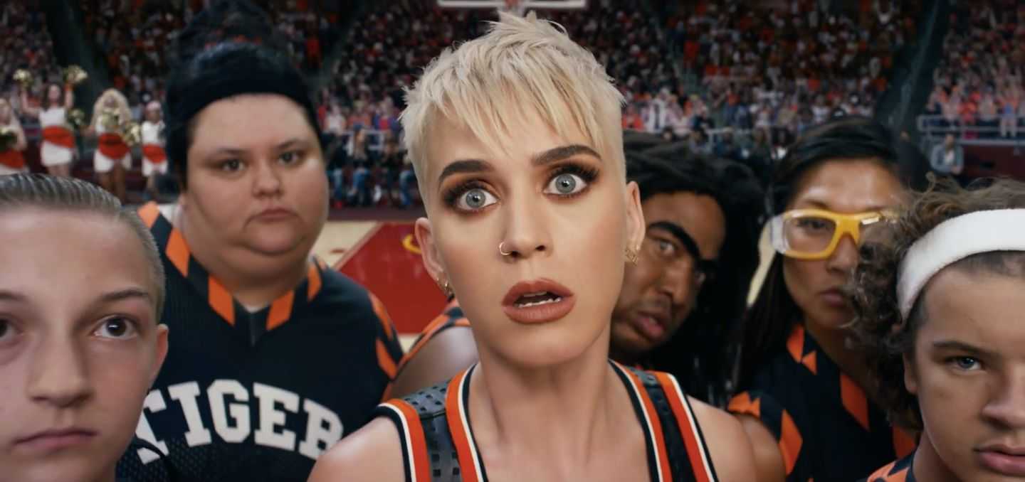 Katy Perry's Star-Studded 'Swish Swish' Video Is