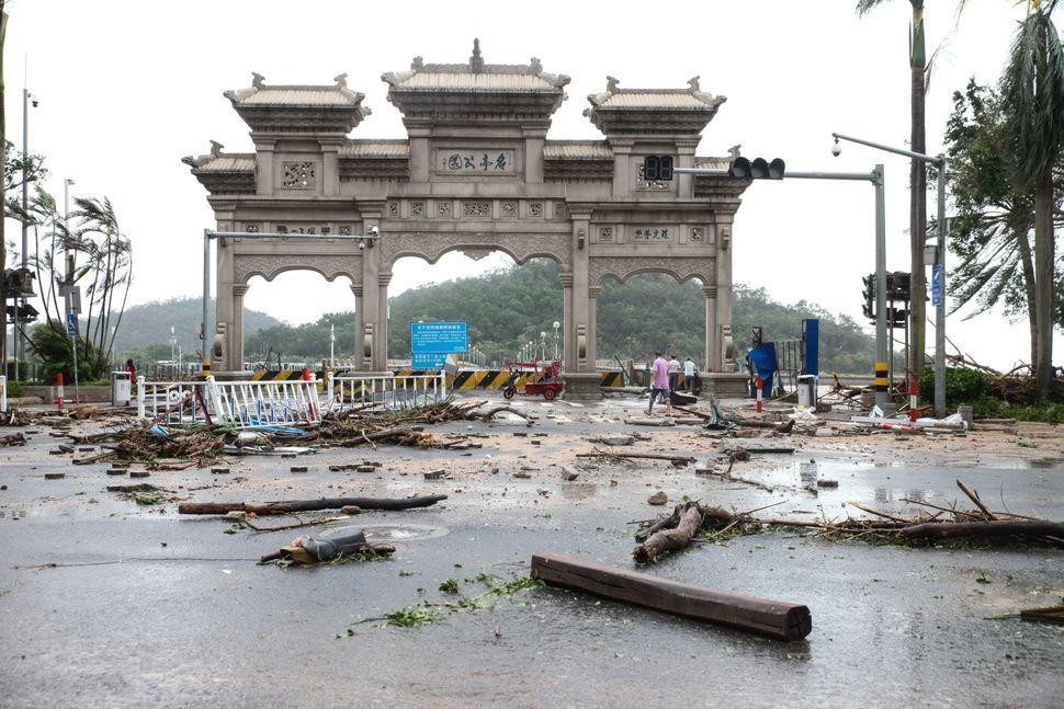 Zhuhai, China, Aug. 23.