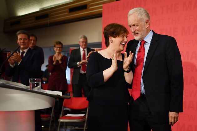 Labour Shadow Foreign Secretary Emily Thornberry and Corbyn are political