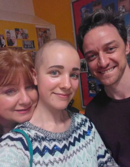 X-Men star James McAvoy donated £50,000 to the
