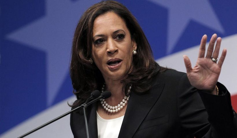 Powerful women such as California Senator Kamala Harris (pictured) are routinely (and wrongly) criticized by male colleagues