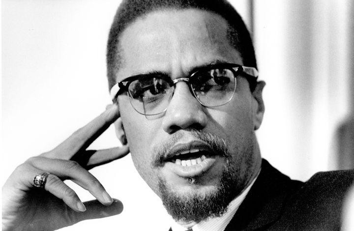 Civil Rights leader Malcolm X, in 1965.