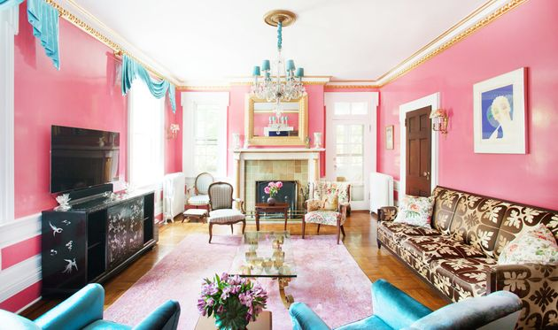 A Garden State Revival room designed by Sasha