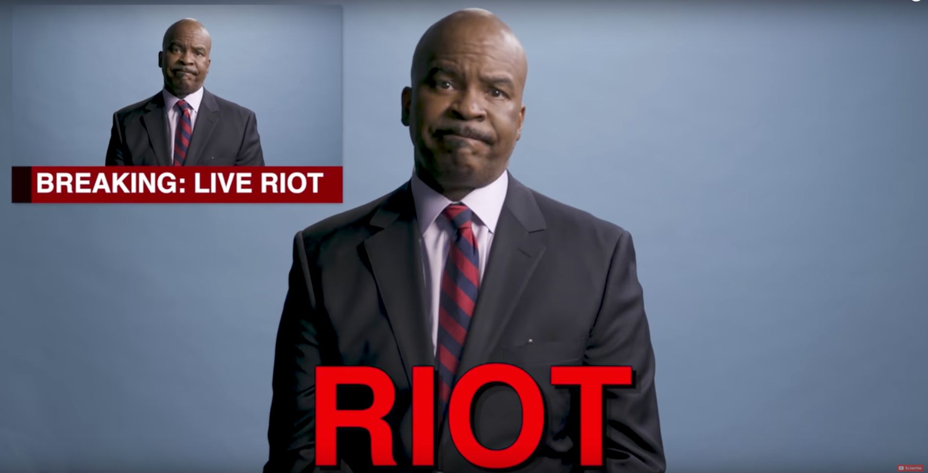 David Alan Grier Helps Us Decide If Something Is A Protest Or A Riot