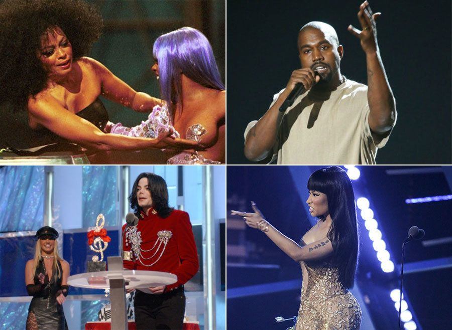 The Most Outrageous, Shocking And Memorable VMAs Moments Ever