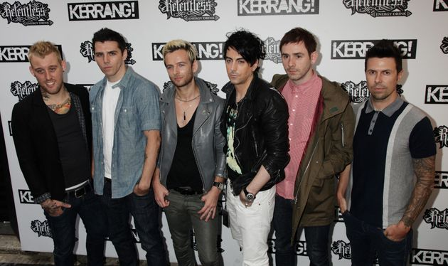 Lostprophets at the 2010 Kerrang! Awards From left: Luke Johnson, Stuart Richardson, Lee Gaze,...