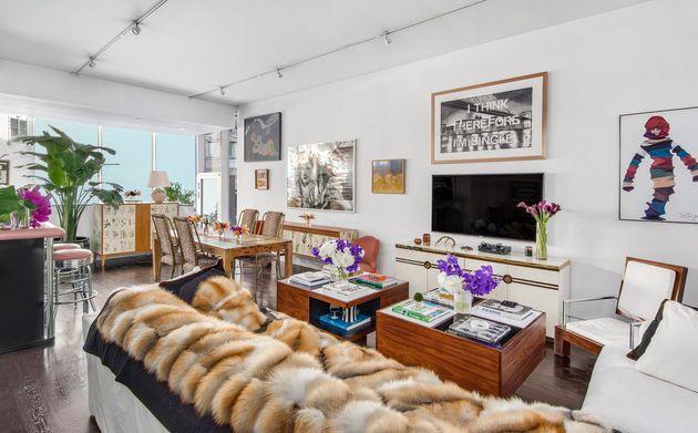 A Tribeca Maisonette room designed by Sasha