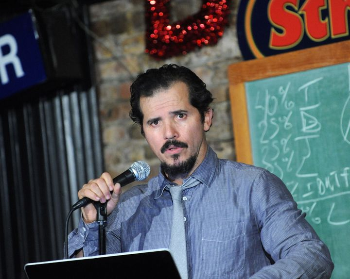 John Leguizamo performs at The Stress Factory Comedy Club on Jan. 29, 2015.