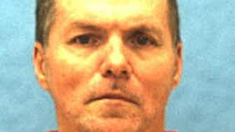 Deathrow inmate Mark Asay is pictured in this undated handout photo obtained by Reuters August 14, 2017.   Florida Department of Corrections/Handout via REUTERS   ATTENTION EDITORS - THIS IMAGE WAS PROVIDED BY A THIRD PARTY.  THIS PICTURE WAS PROCESSED BY REUTERS TO ENHANCE QUALITY. AN UNPROCESSED VERSION HAS BEEN PROVIDED SEPARATELY
