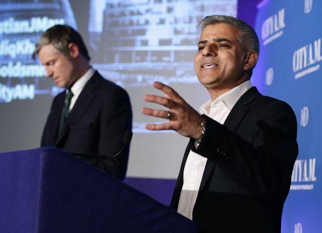 Zac Goldsmith, losing to Sadiq Khan for the London