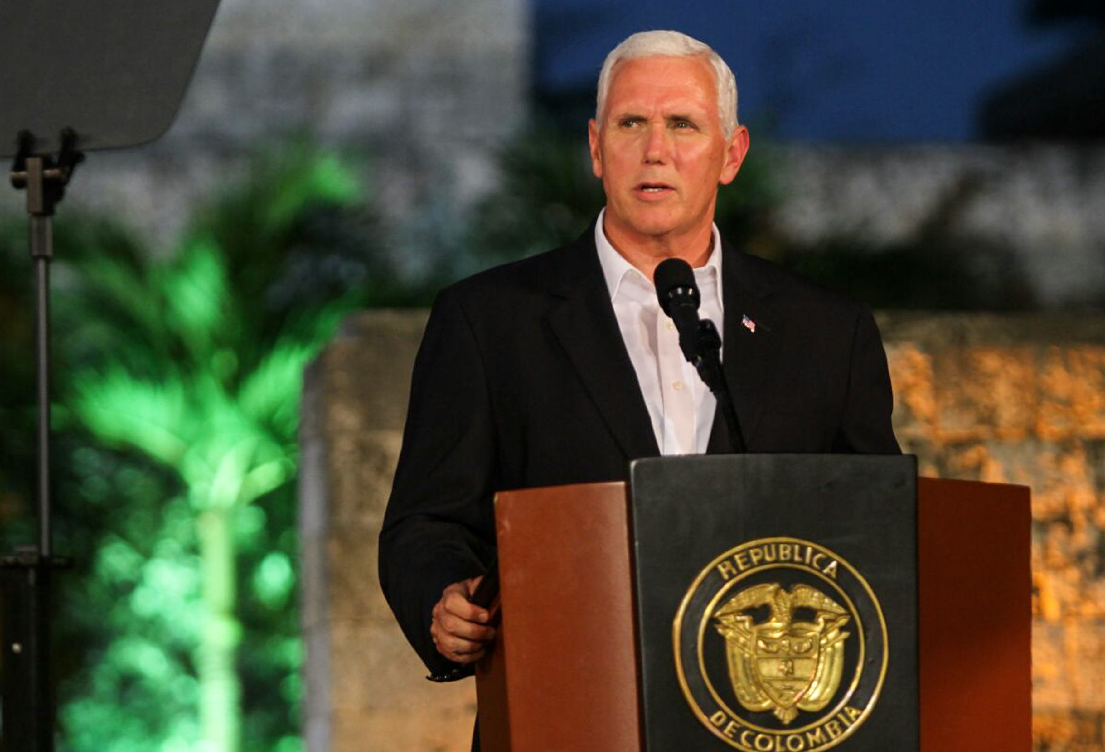 Soldiers removed from Pence detail after bringing women to hotel