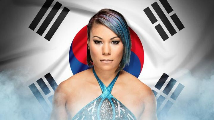 Mia Yim is a professional wrestler and survivor of domestic violence.