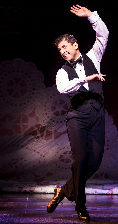 Tony Yazbeck in <em>Prince of Broadway</em>