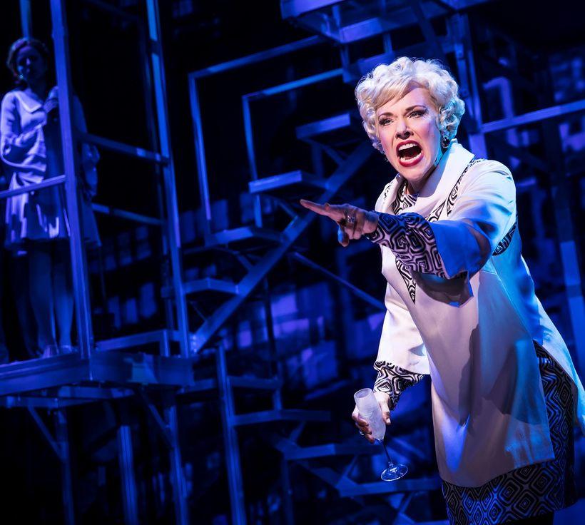 Emily Skinner in <em>Prince of Broadway</em>