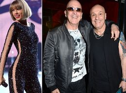 So, How Did Right Said Fred Wind Up With A Co-Writing Credit On Taylor Swift's New Single?