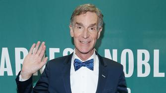 NEW YORK, NY - JULY 10:  Bill Nye attends a conversation with Rachel Feltman at Barnes & Noble Union Square on July 10, 2017 in New York City.  (Photo by John Lamparski/WireImage)