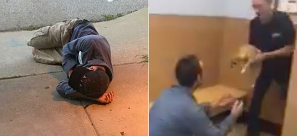 Homeless Man Reunited With Dog After Sleeping Outside Animal Shelter To Find Her