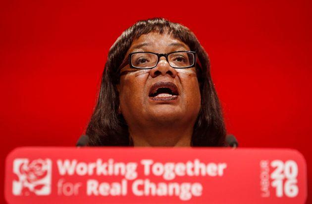 Shadow Home Secretary Diane