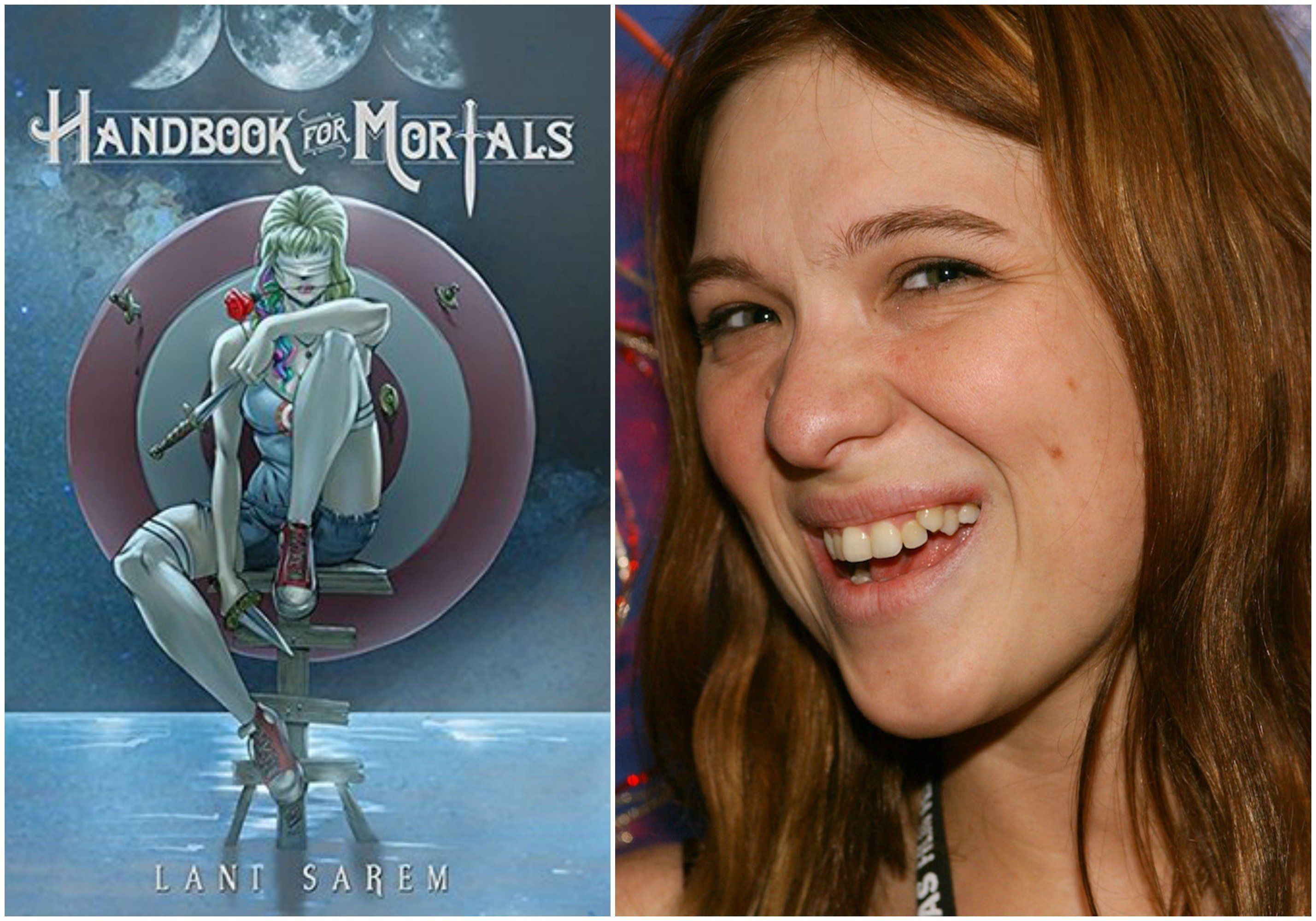 Lani Sarem (right) caused a stir when her debut book <i>Handbook for Mortals</i> hit the YA hardcover New York Times best-sel