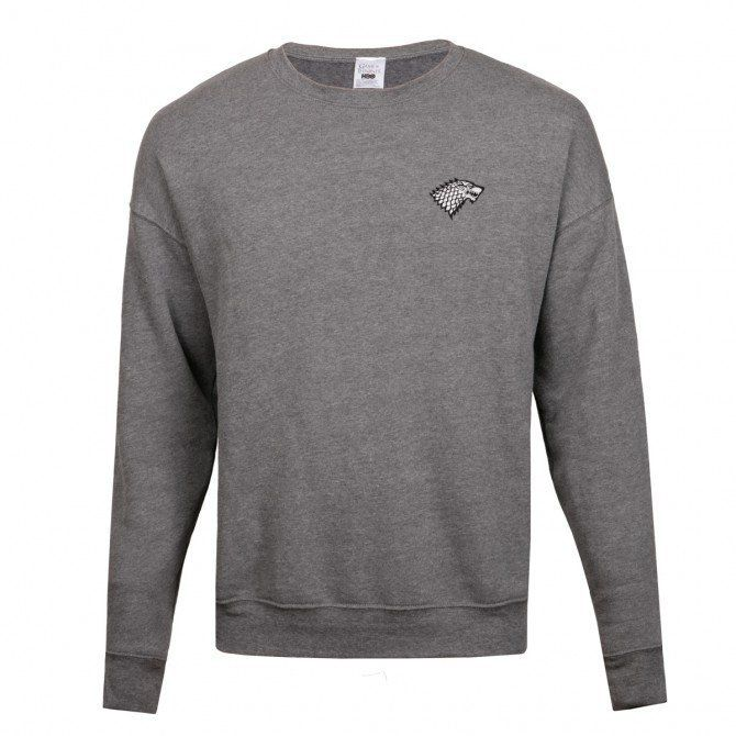 "Stark crew neck sweater, <a href=""http://store.hbo.com/game-of-thrones-stark-crew-neck-sweater/detail.php?p=1026329&v=hbo"