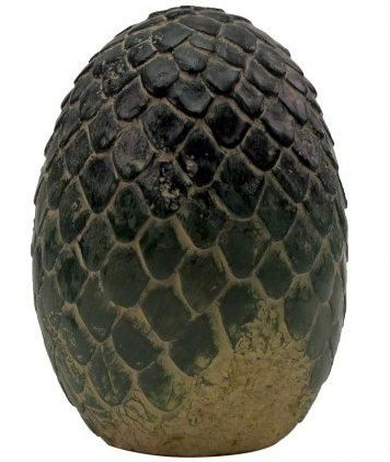 "Rhaegal dragon egg paperweight, <a href=""http://store.hbo.com/game-of-thrones-rhaegal-dragon-egg-paperweight/detail.php?p=361"
