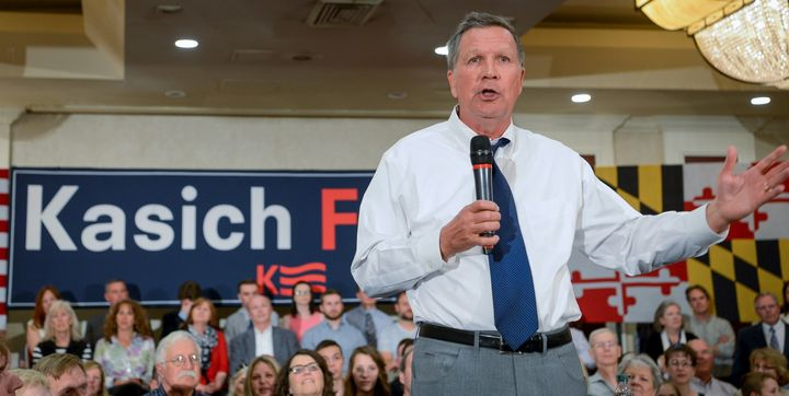 Ohio Gov. John Kasich may have sounded moderate during the 2016 GOP primary, but his record suggests otherwise.