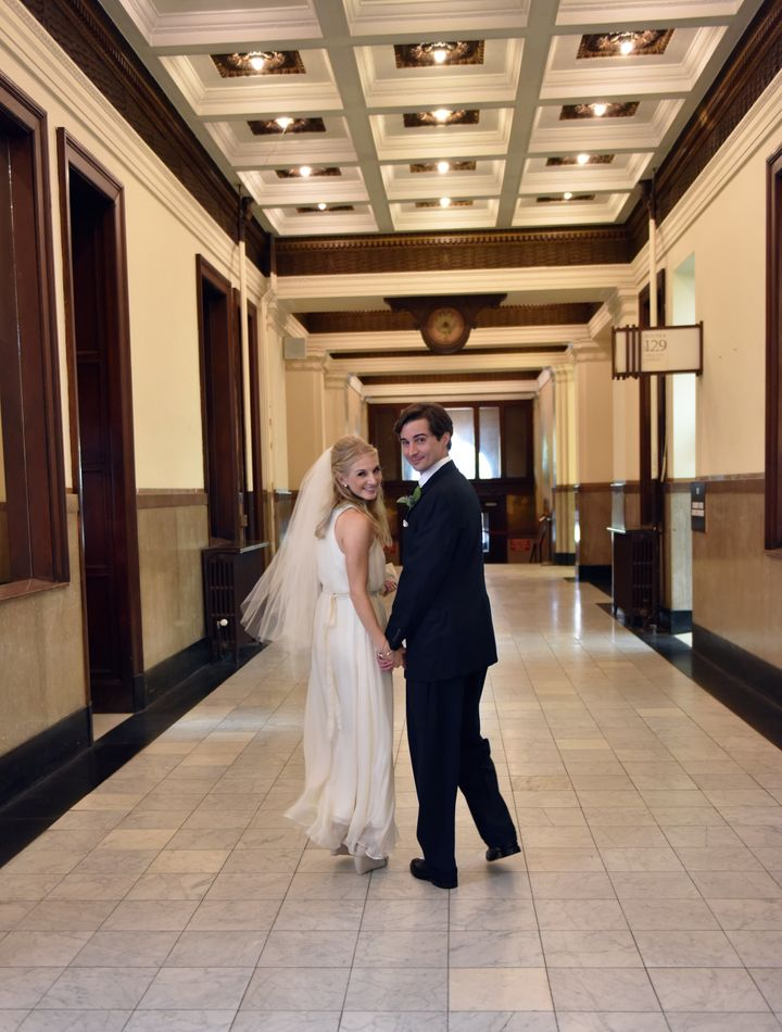 Looking good, newlyweds!
