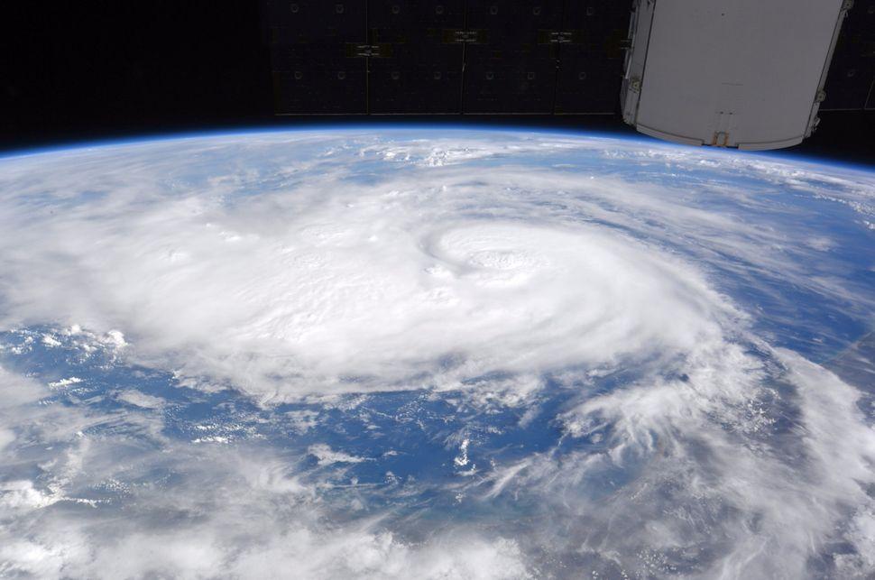 Nasa Astronauts Share Images Of Hurricane Harvey From