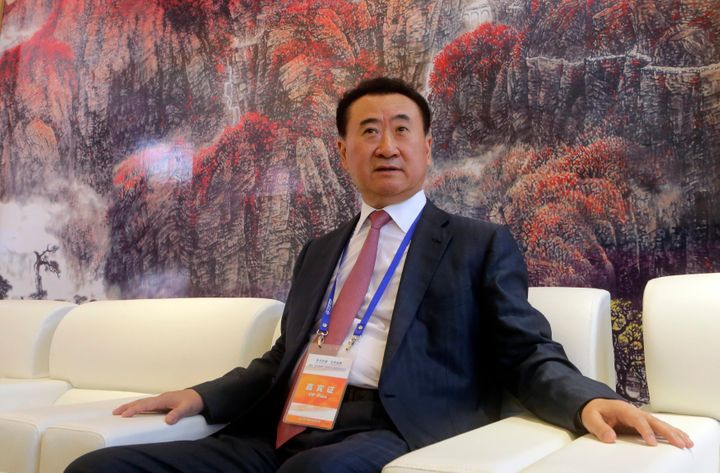 Wang Jianlin owns the largest theater chains in both China and North America.