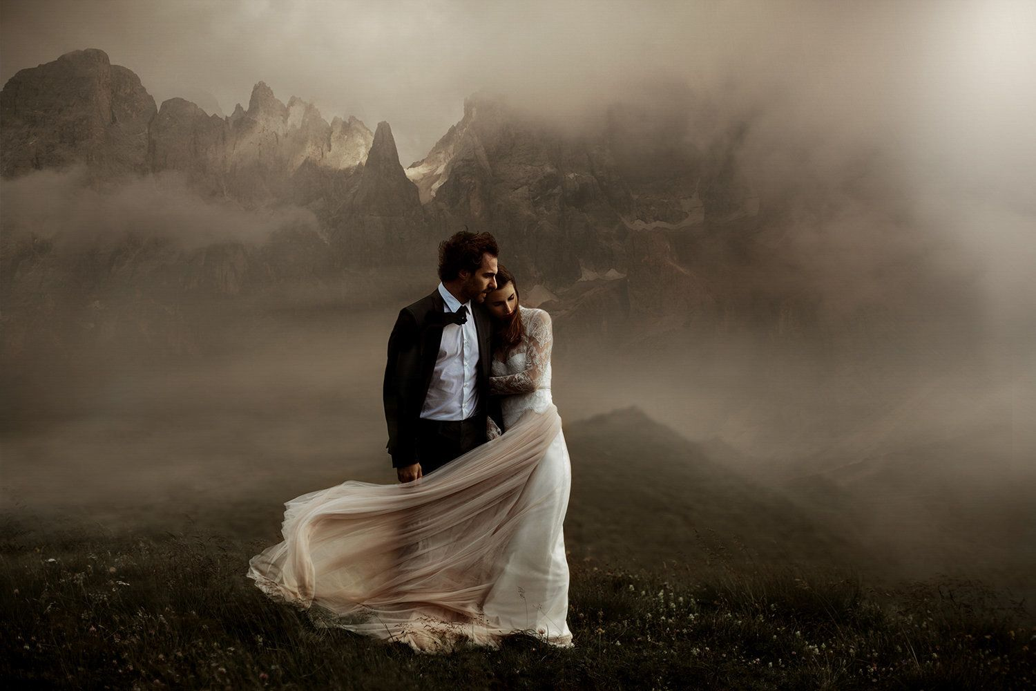 The photo above, captured inThe Dolomites in Italy, was one of 50 photos that made it into the...