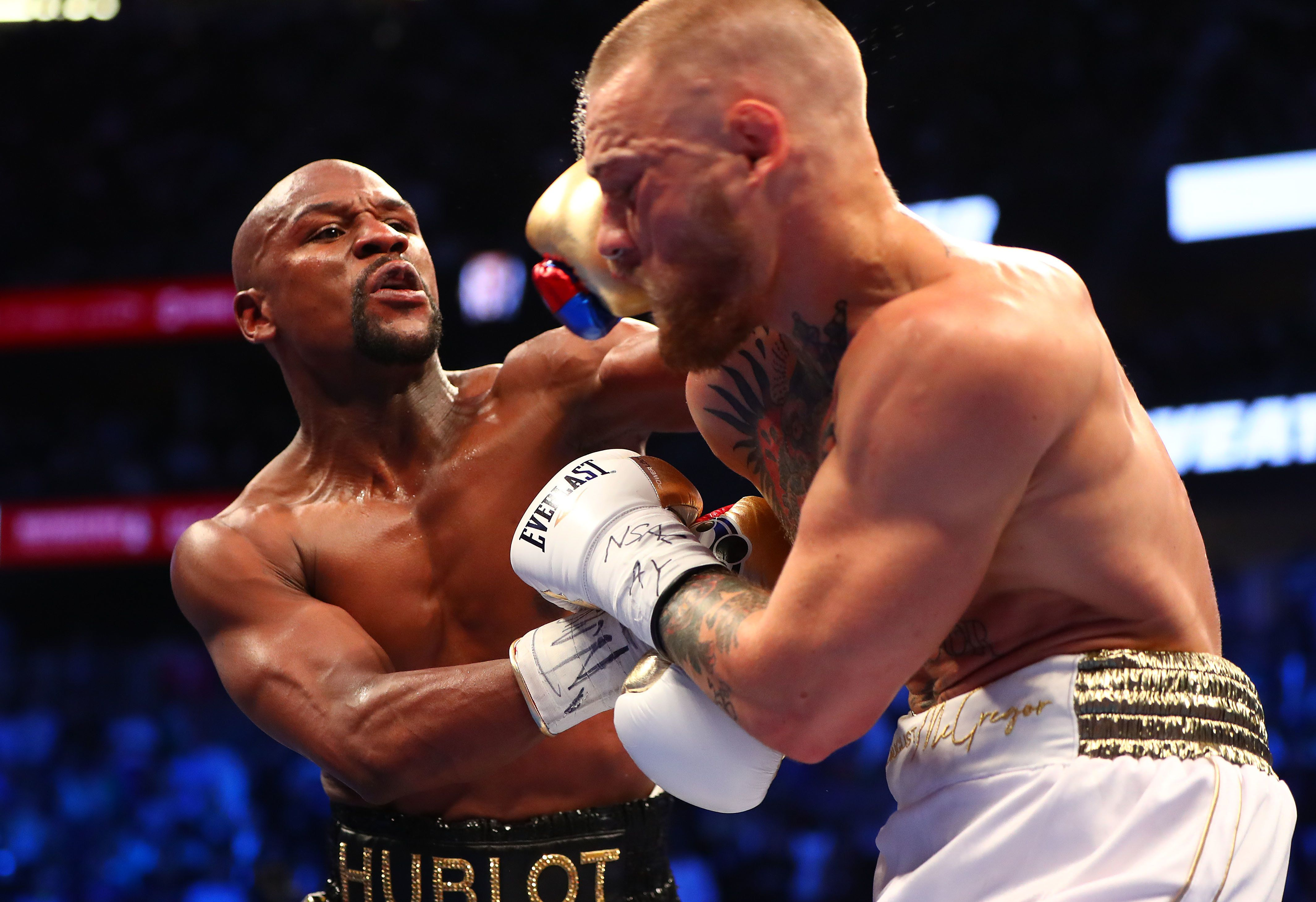 Floyd Mayweather Defeats Conor McGregor By Technical Knockout In Tenth