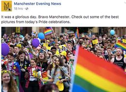 Manchester Evening News's Response To Pride Haters Is Amazing