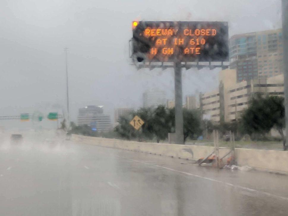 More flooding outside of Houston.