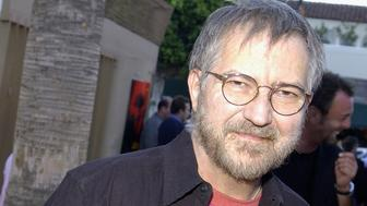 HOLLYWOOD - AUGUST 8:  Actor Tobe Hooper arrives for the Los Angeles premiere of the film 'Cabin Fever' on August 8, 2003 at the Egyptian Theatre in Hollywood, California. (Photo by Vince Bucci/Getty Images)