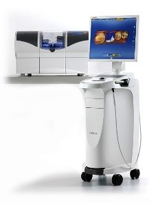 CEREC AC Omnicam CAD/CAM unit used by Dr. Alvarez to do same day crowns, veneers, and smile makeovers