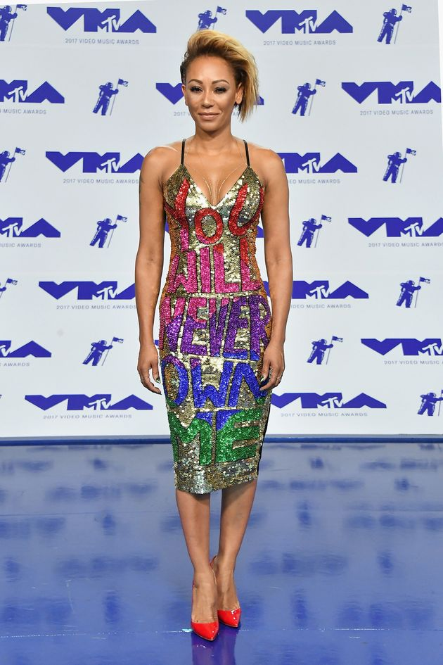 Mel B Makes Very Public Statement With Her VMAs 'Revenge