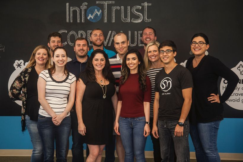 Giving back to the community has helped InfoTrust and its team build a high-energy culture.