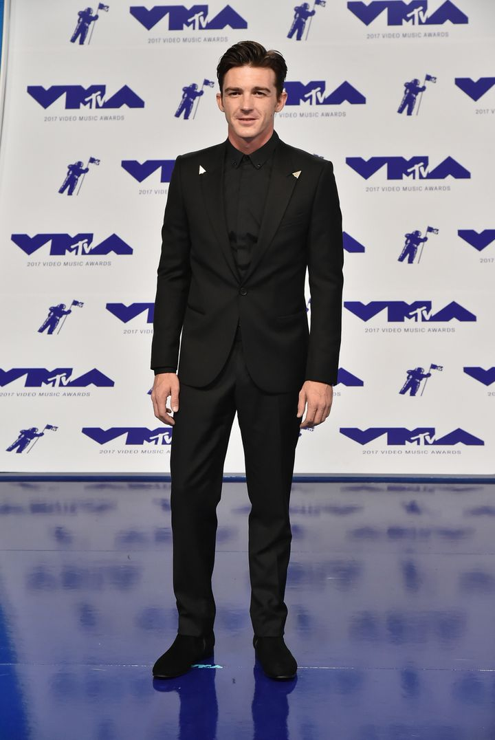 Drake Bell attends the 2017 MTV Video Music Awards at The Forum on August 27, 2017.
