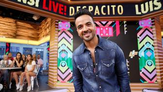 GOOD MORNING AMERICA -  Luis Fonsi performs his hit Despacito live on 'Good Morning America,' Wednesday, August 16, 2017, airing on the ABC Television Network.  (Photo by Heidi Gutman/ABc via Getty Images) LUIS FONSI