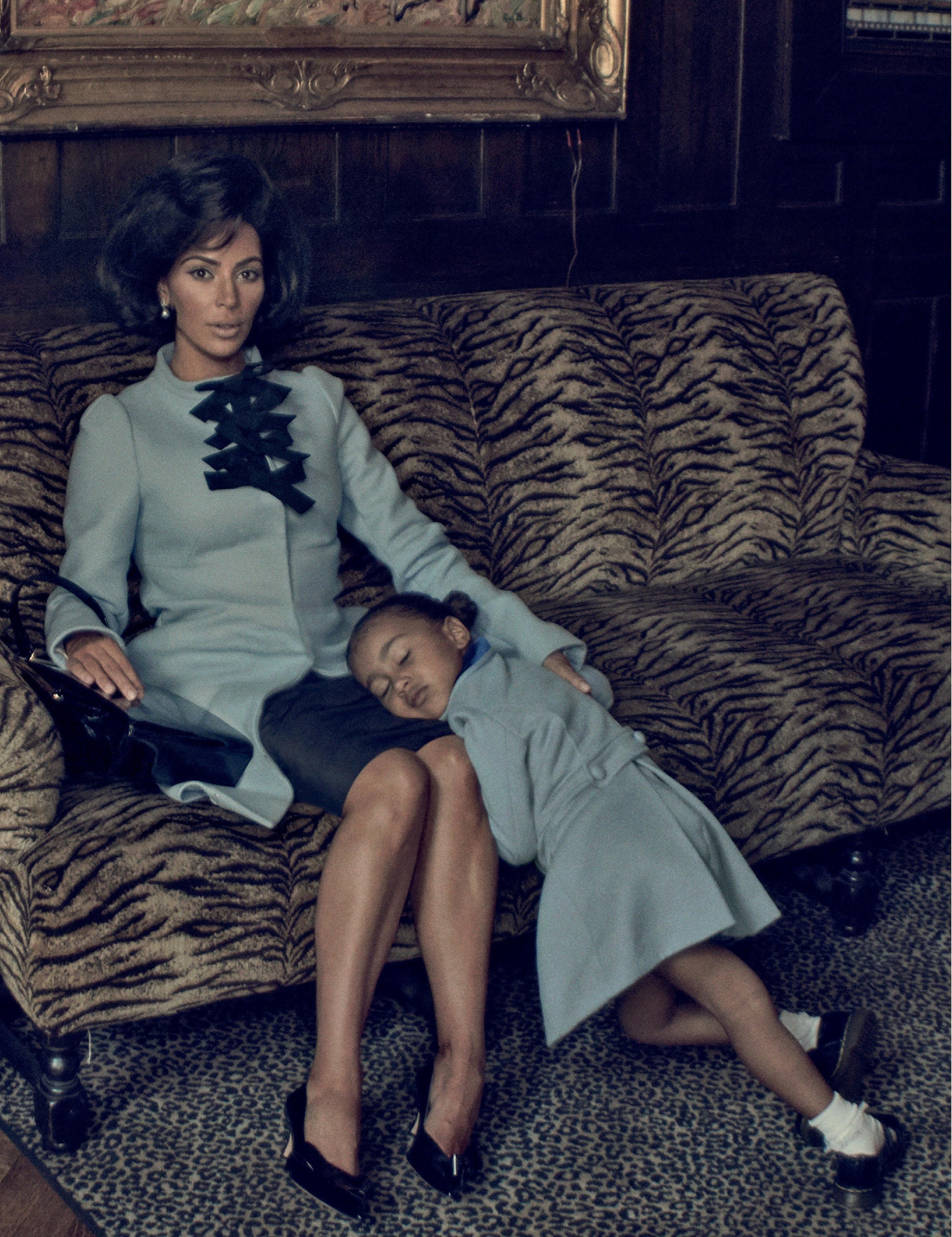 Kim Kardashian West Channels Jackie Kennedy in Bold New Shoot