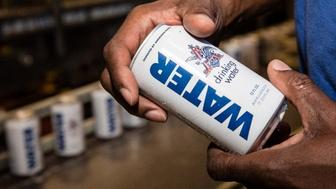 The Anheuser-Busch Brewery is sending more than 500000 cans of emergency drinking water to those hard-hit by Hurricane Harvey