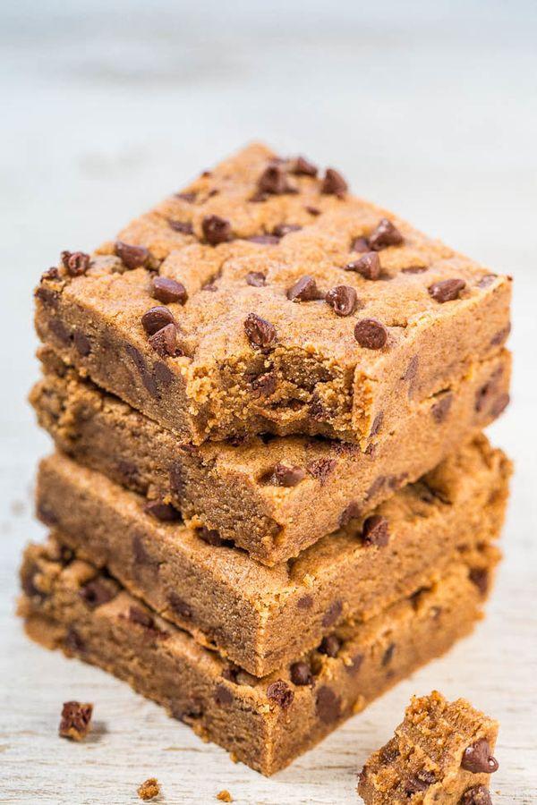 """<strong>Get the <a href=""""https://www.averiecooks.com/2016/02/almond-butter-brown-sugar-bars.html"""" target=""""_blank"""">Almond Butt"""