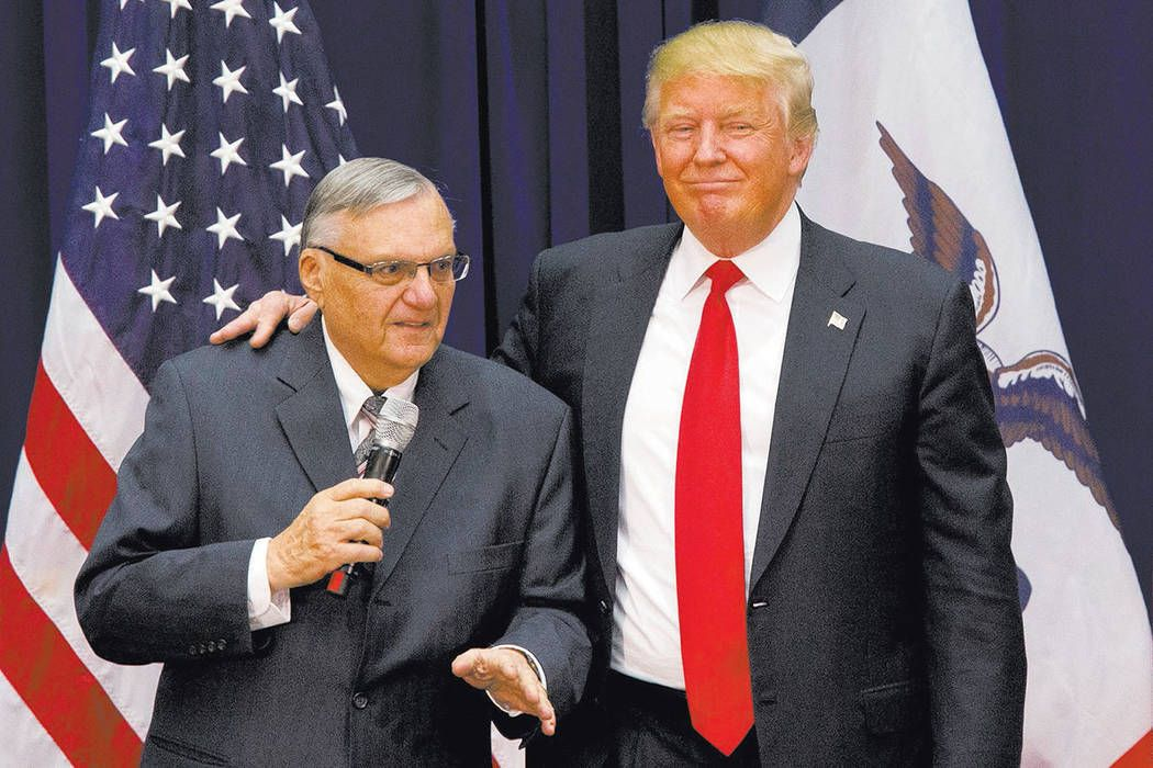 Trump faces bipartisan backlash for pardoning ex-sheriff Joe Arpaio