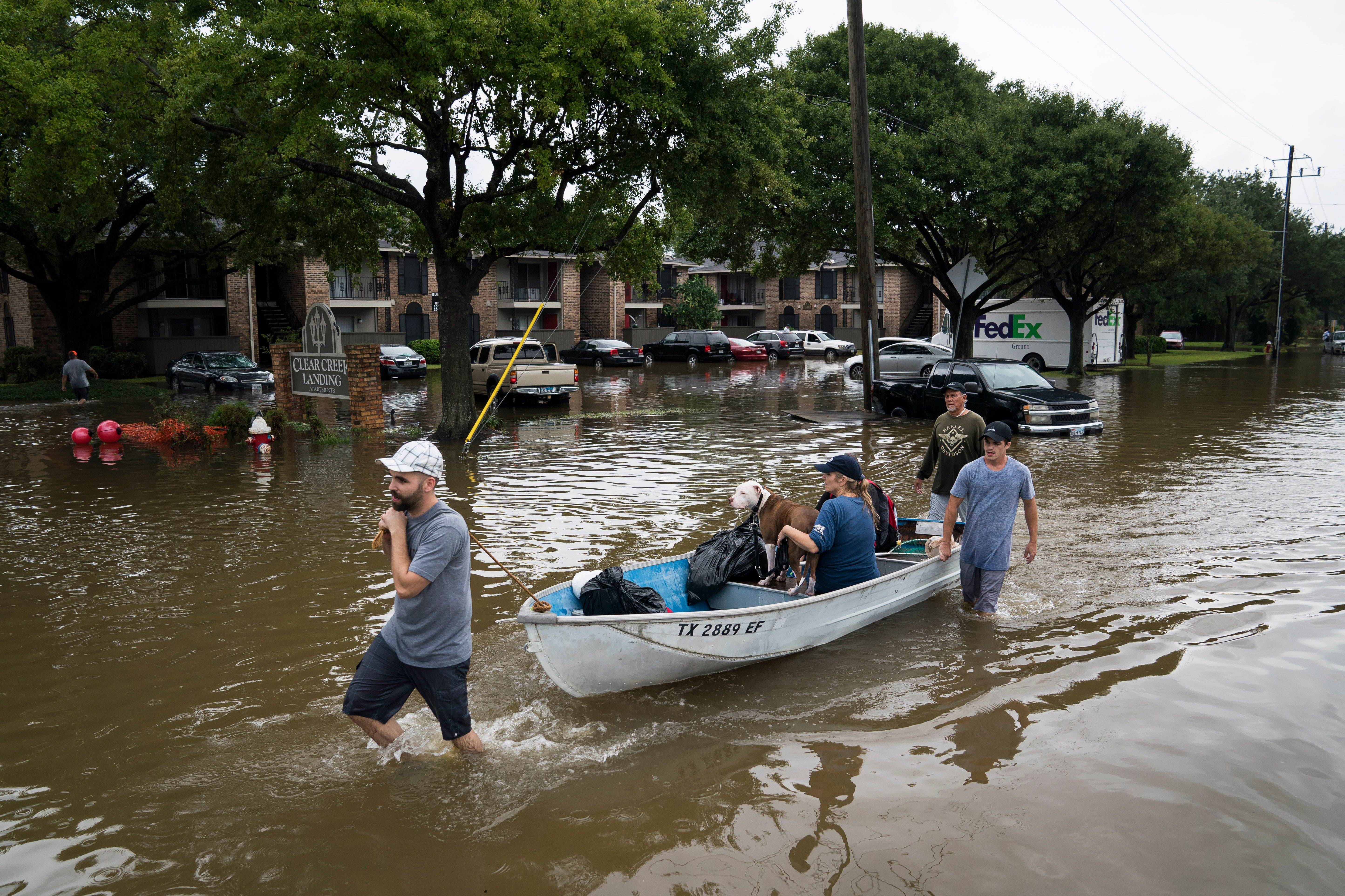 Hurricane Harvey devastated areas of Texas and claimed at least five lives in the Lone Star State.