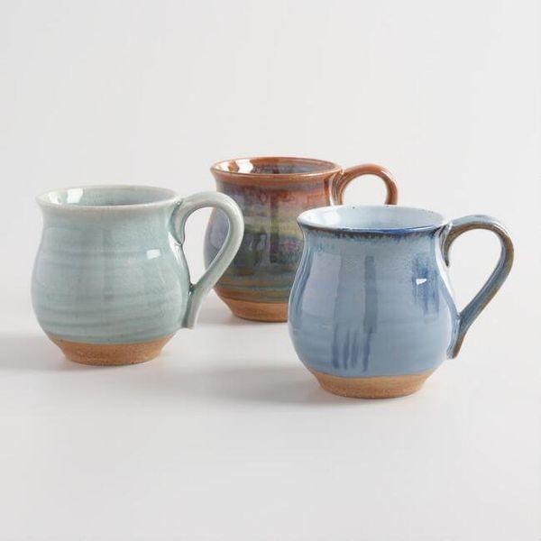 "<a href=""https://www.worldmarket.com/product/organic+glazed+ceramic+belly+mugs+set+of+3.do?sortby=ourPicks&from=fn"" targe"