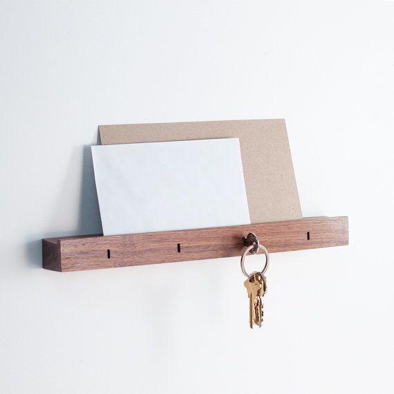 "<a href=""https://www.etsy.com/listing/465527423/linear-wall-mounted-key-holder-in-walnut?ga_order=most_relevant&ga_search"