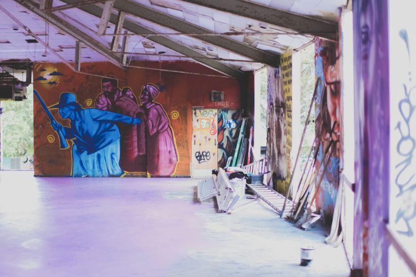 """Inside """"ExhibitBe"""" (2014)."""